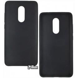 Чехол защитный для Xiaomi Redmi Note 4, резиновый, черный