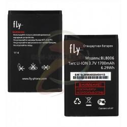 Аккумулятор (акб) BL8006 для Fly DS133, (Li-ion 3.7V 1450mAh), original, #B2840F0005