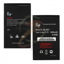 Аккумулятор BL4007 для Fly DS123, DS130, original, (Li-ion 3.7V 1700mAh), #200100771/200101103
