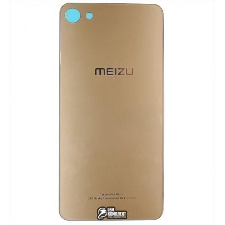Задня панель корпусу для Meizu U10, золотистая