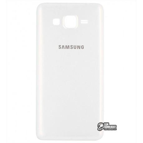Задняя крышка батареи для Samsung G530H Galaxy Grand Prime, белая