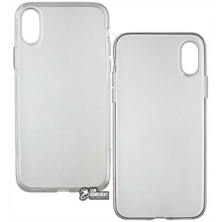 Чехол Hoco Light Series TPU для iPhone X, черный