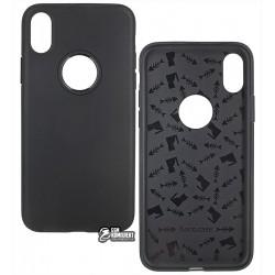 Чехол Hoco Fascination Series TPU для iPhone X, черный