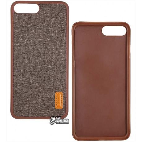 Чехол-накладка Baseus Grain Case для iPhone 7 Plus Brown