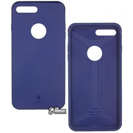 Чехол-накладка Baseus Hermit Bracket Case для iPhone 7 Plus темно синяя