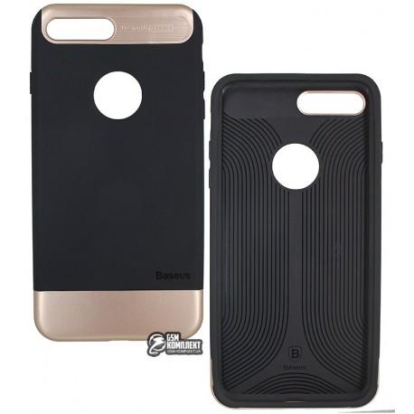 Чехол-накладка Baseus Taste Style Series для iPhone 7 Plus черная/Gold