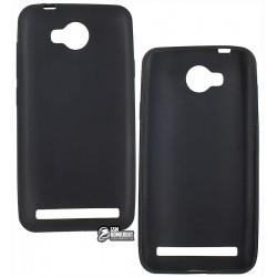Чехол защитный для Huawei Ascend Y3 II, силиконовый, черный