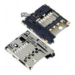 Коннектор карты памяти для Nokia N97, N97 Mini