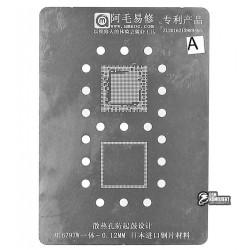 Amaoe BGA трафарет MTK MT6797W 0.12mm