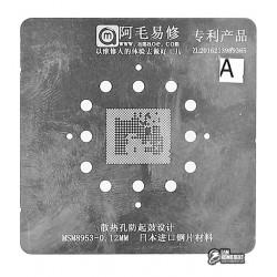 Amaoe BGA трафарет Qualcomm MSM8953/B01-AB 0.12mm