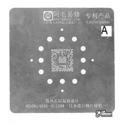 Amaoe BGA трафарет MTK MT6582/6592 0.12mm