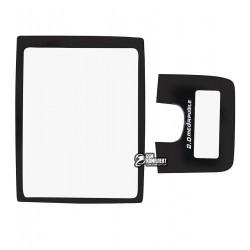Стекло корпуса для Samsung D830, черный, полный комплект