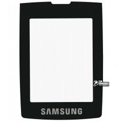 Стекло корпуса для Samsung D900, черный