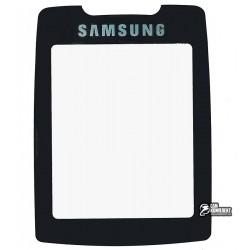 Скло корпусу для Samsung E630, чорний