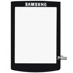 Стекло корпуса для Samsung G600, черный