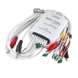 Щупы для блоков питания AIDA A-700 с разъемами для плат iPhone 4/4S/5/5S/SE /6/6S/6P/6SP, micro USB, крокодилы