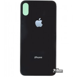 Задняя панель корпуса для Apple iPhone X, черная