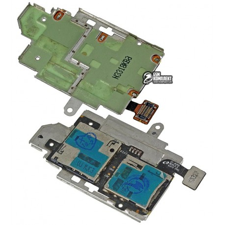 Конектор SIM-карти для Samsung I9300 Galaxy S3, з конектором карти пам яті, зі шлейфом