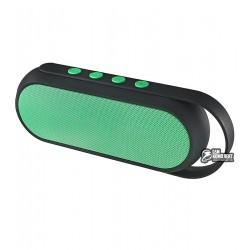 Портативная колонка XC-Z4, Bluetooth, зеленая