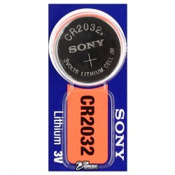 Батарейка SONY СR2032 Lithium, 1шт.