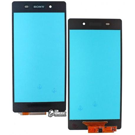 Тачскрин для Sony D6502 Xperia Z2, D6503 Xperia Z2, черный