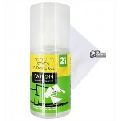Набор для чистки экранов PATRON F4-016 2в1 (Гель 200мл+Салфетка)