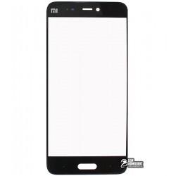 Стекло корпуса для Xiaomi Mi5, черное