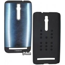 Чехол защитный Motomo Shockproof для Asus ZE551ML ZenFone 2, силикон + пластик