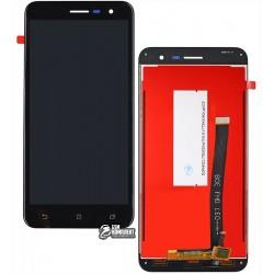 Дисплей для Asus ZenFone 3 (ZE520KL), черный, с сенсорным экраном (дисплейный модуль)