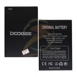Аккумулятор (акб) для Doogee X7, (Li-ion 3.7V 3700mAh)