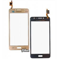 Тачскрин для Samsung G532 Galaxy J2 Prime, золотистый
