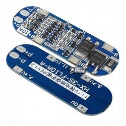 HX-3S-FL10-A 11.1V-12.6V 8A BMS Контроллер заряда-разряда 3-х Li-Ion 18650