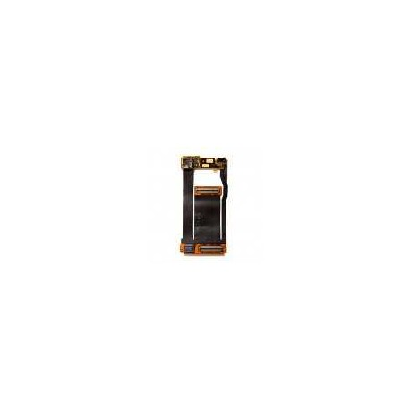 Шлейф для Nokia 6280, оригинал, межплатный, камеры, с компонентами, (0202618)