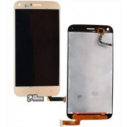 Дисплей для UMI London, золотистый, с сенсорным экраном (дисплейный модуль)