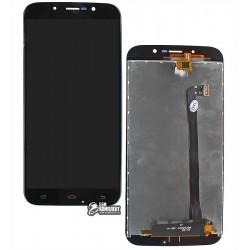 Дисплей для UMI Rome X, черный, с сенсорным экраном (дисплейный модуль)