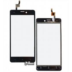 Тачскрин для Prestigio MultiPhone 5502 Duo Muze A5, черный