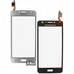 Тачскрин для Samsung G532 Galaxy J2 Prime, серебристый