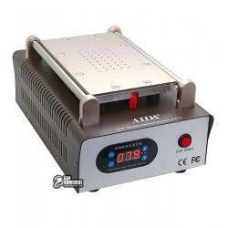 Сепаратор для расклеивания дисплейного модуля AIDA A918 8.5 дюймов (19 x 11 см) встроенный компрессор