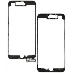 Рамка крепления дисплея для Apple iPhone 7 Plus, черная