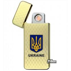 """Зажигалка USB """"Ukraine"""", электроимпульсная, XT-4797"""