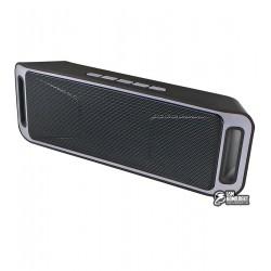 ПортативнаяколонкаUKCSC-208,Bluetooth,черный+серый