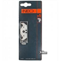 Лезвия-крючки NEO толщиной 0.5 мм, 5шт