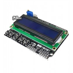 Дисплей LCD1602 Keypad Shield для Arduino MEGA2560, MEGA1280, UNO R3