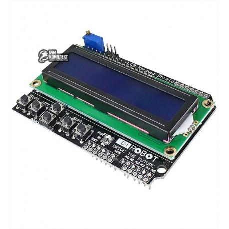 Дисплей LCD1602 Keypad Shield для Arduino MEGA2560, MEGA1280, UNO R3