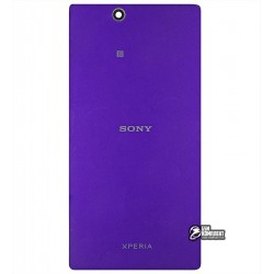 Задня панель корпусу для Sony C6802 XL39h Xperia Z Ultra, C6806 Xperia Z Ultra, C6833 Xperia Z Ultra, фіолетова
