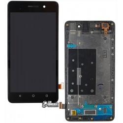 Дисплей для Huawei Honor 4C, черный, с передней панелью, с сенсорным экраном (дисплейный модуль), original (PRC)