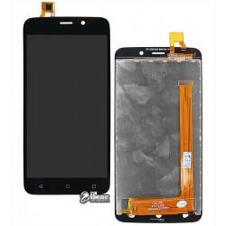 Дисплей для Fly FS509 Nimbus 9, черный, с сенсорным экраном (дисплейный модуль)