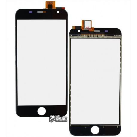 Тачскрин для Prestigio MultiPhone 7501 Duo Grace R7, чорний