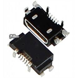 Коннектор зарядки Micro-USB для Nokia 1520 Lumia, 930 Lumia, 5 pin, тип-B