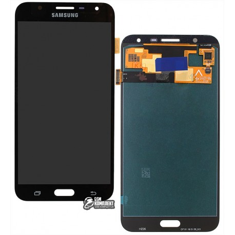 Дисплей для Samsung J701F/DS Galaxy J7 Neo, черный, с сенсорным экраном (дисплейный модуль), original (PRC)